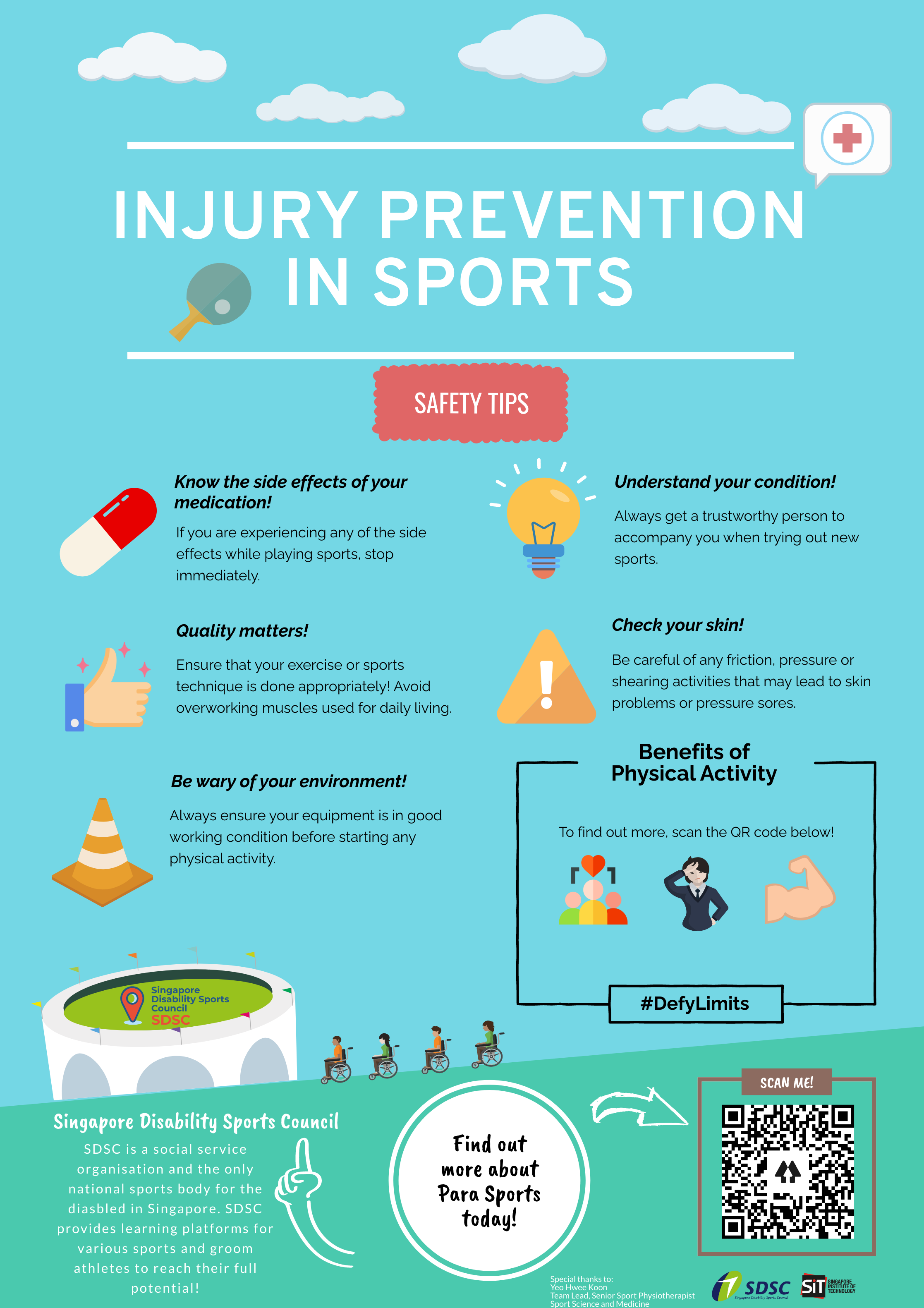 Injury Prevention to Sports