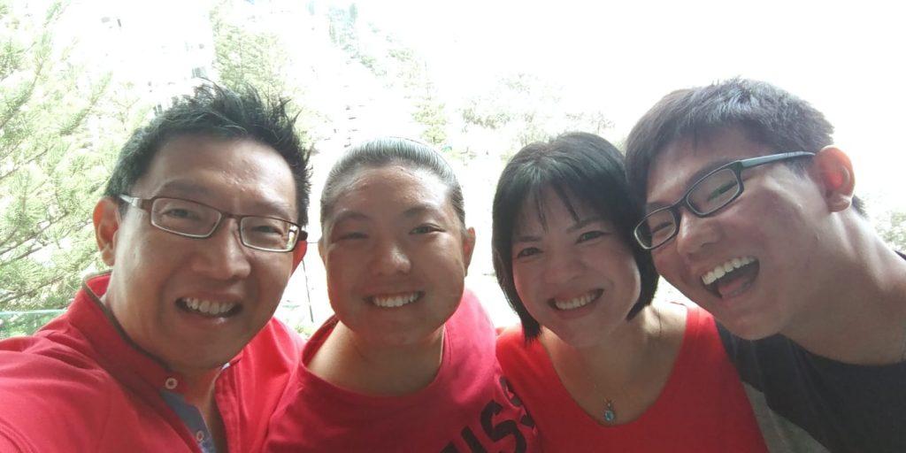 Nicole Fu and Family